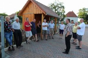 auf Tour in Niederleierndorf