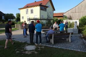 auf Tour in Schneidhart